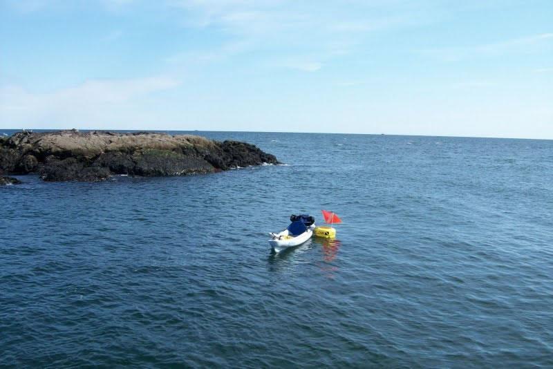 Kayak Diving to Shag Rocks / Shag Rocks, Nahant 10-11-09
